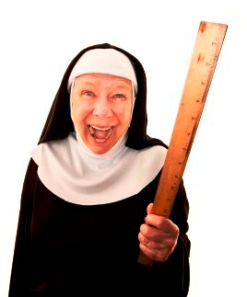 laughing-nun-brandishing-a-ruler